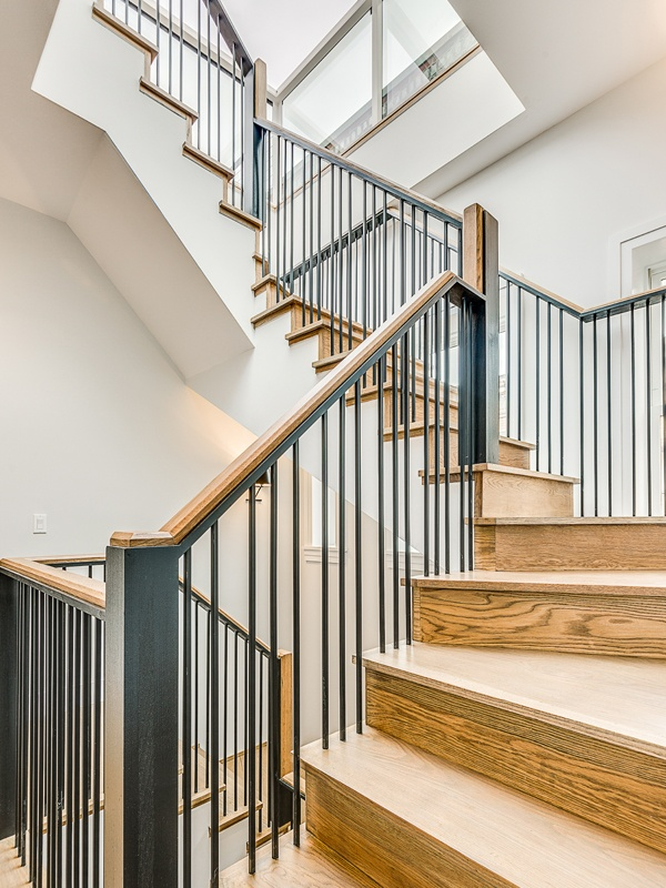 west 139th vertical staircase