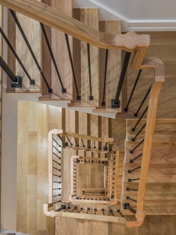 bainbridge staircase looking down