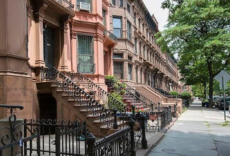 NYC-brownstones