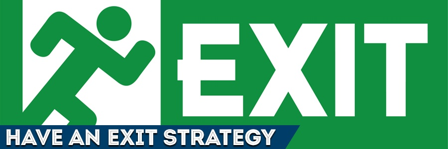 Things happen in life, setting up an exit strategy is a great way to avoid a mess in the future.