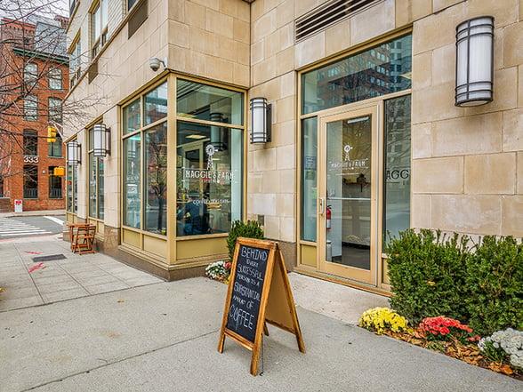Maggie's Farm Espresso Corner of Morgan and Washington Street