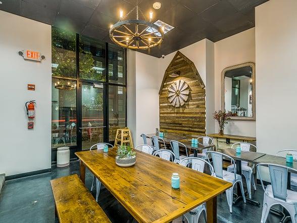 Maggie's Farm Espresso Interior Design