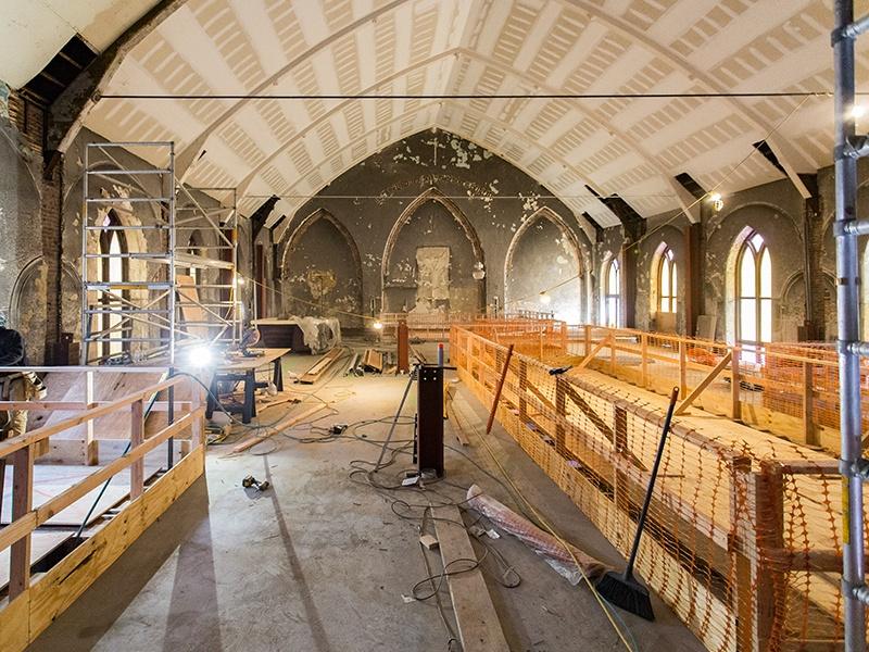 Church progress