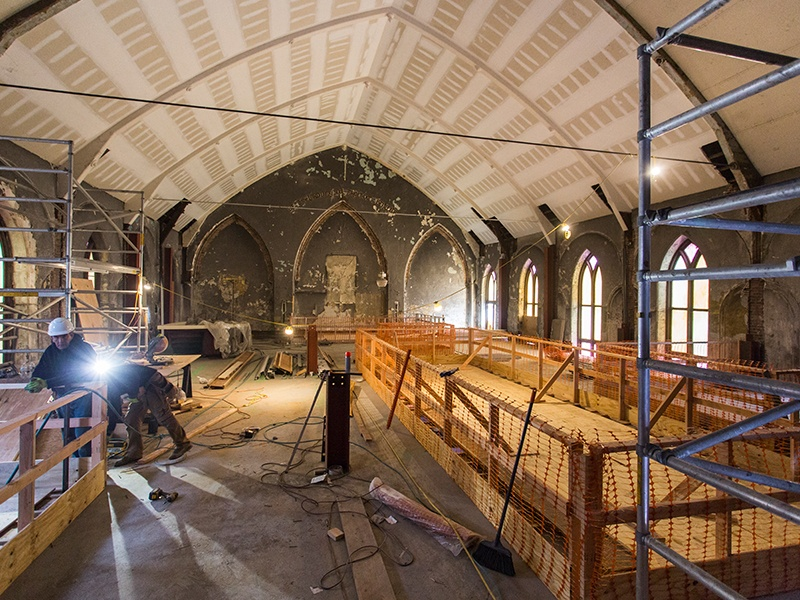Expansive church