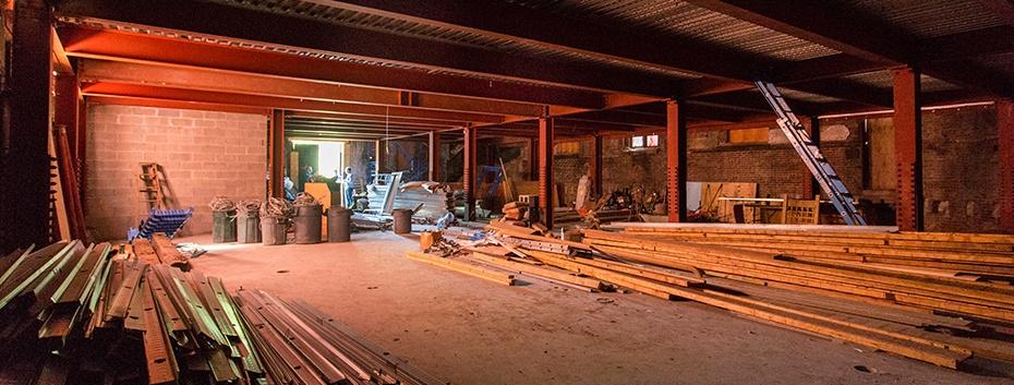 Fresh lumber