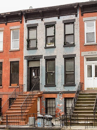 Brooklyn Townhouse Facade Renovation Before
