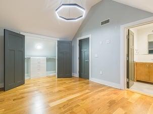 unstaged bedroom