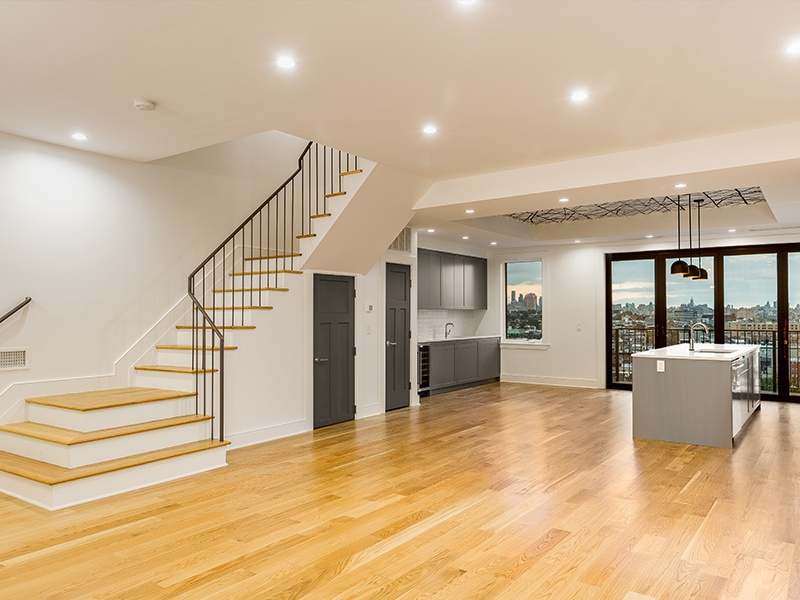 staircase parlor level