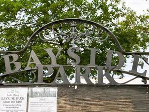 bayside park sign