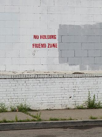 no holding friend zone