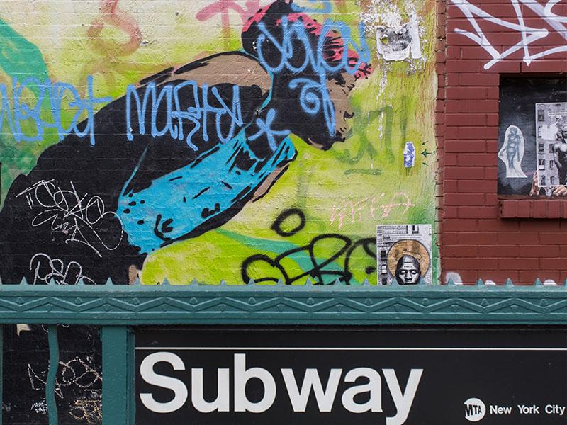 Bed-Stuy subway