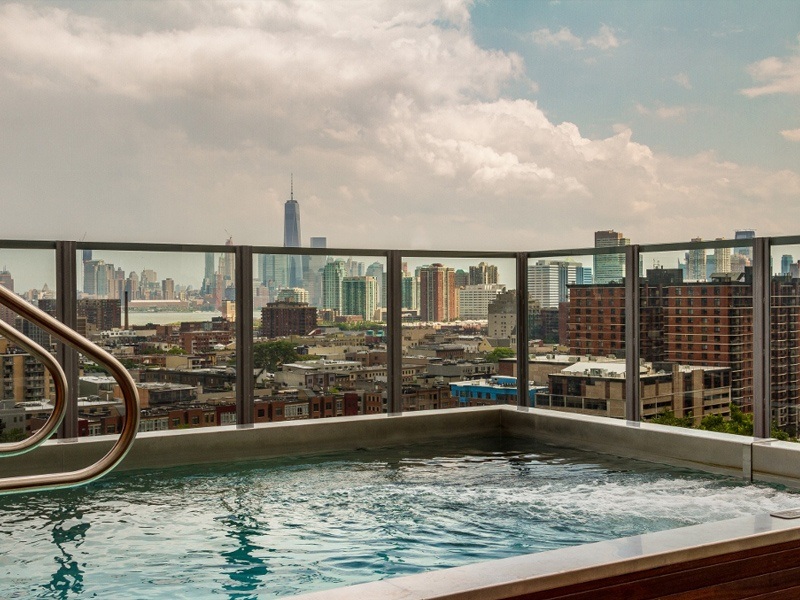 pool with a view