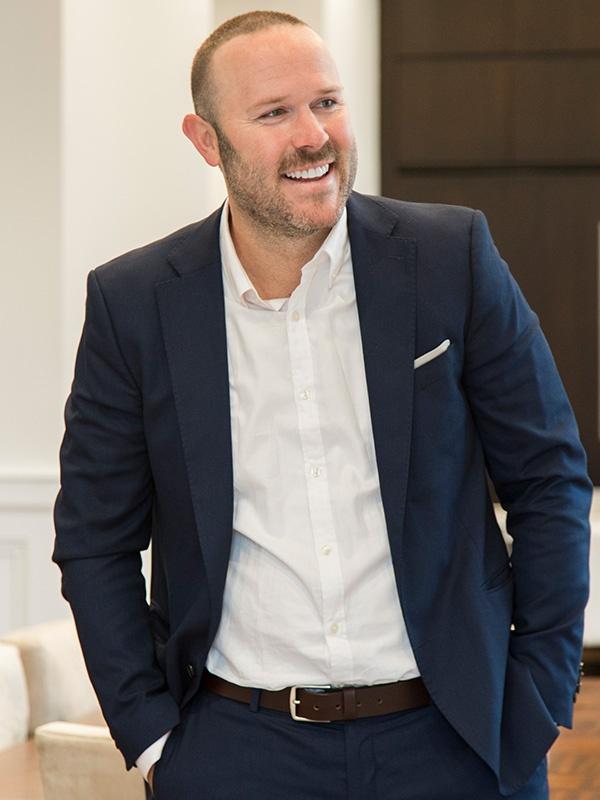 Steffen smiling