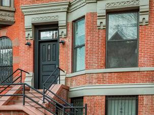 Harlem front door