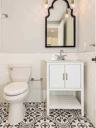 113 Sherman Bathroom Handmade Tile