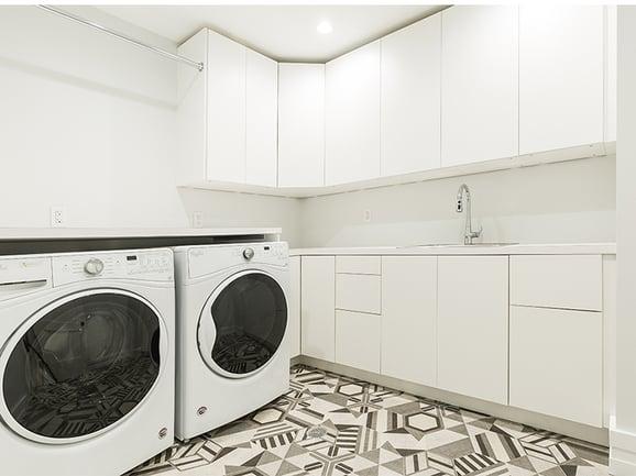 120 Bainbridge Laundry Room Handmade Tile
