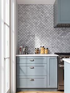 398 State Street Scalloped Tile Details