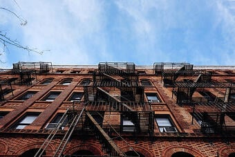 NYC-apartment-fire-escapes