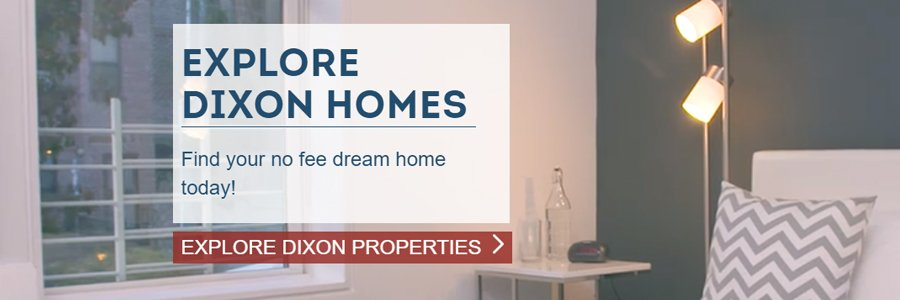 Dixon Leasing apartment rentals website
