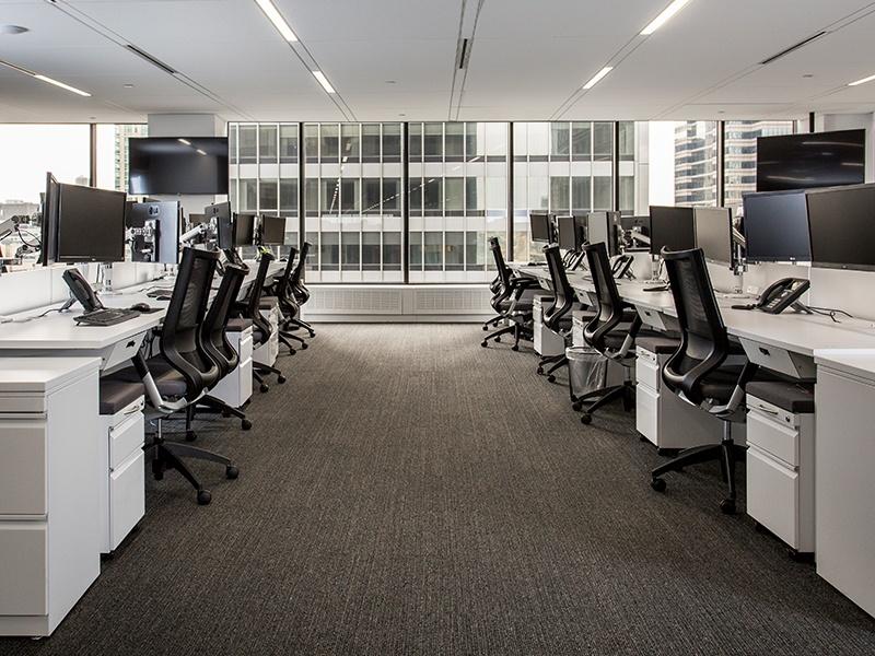 employee workstations