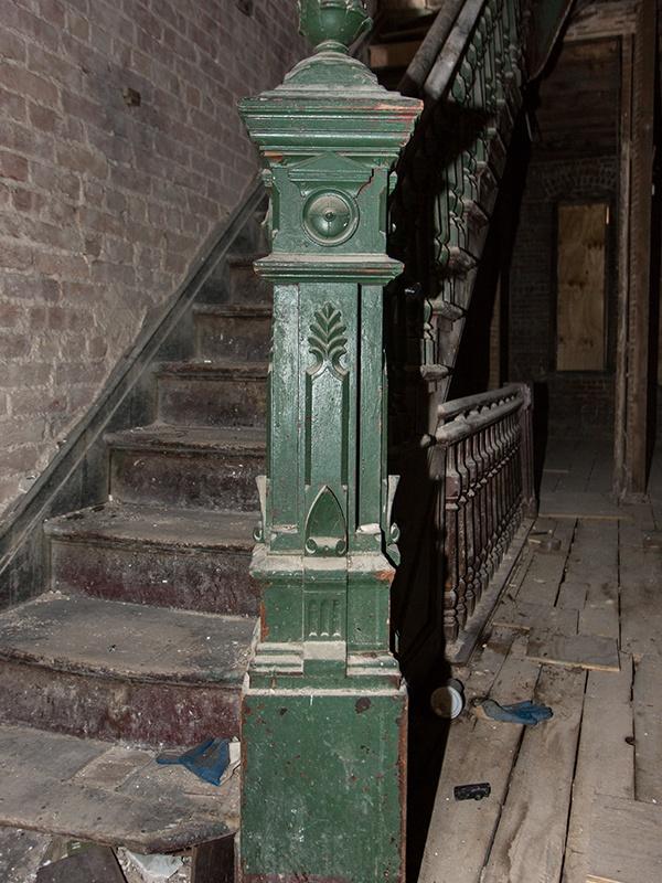 historic newel post