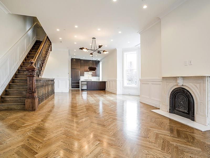 herringbone hardwood floors