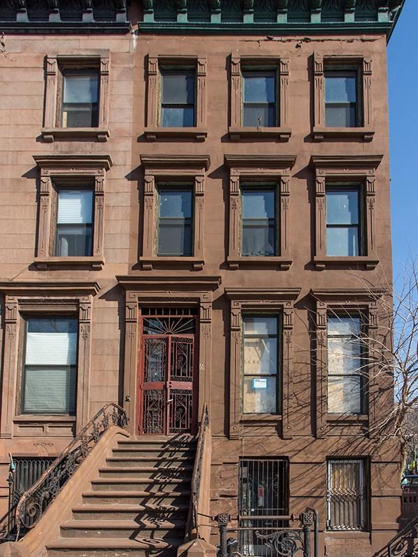 facade before