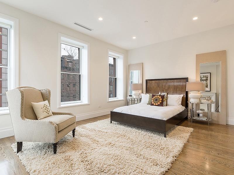full-floor master suite