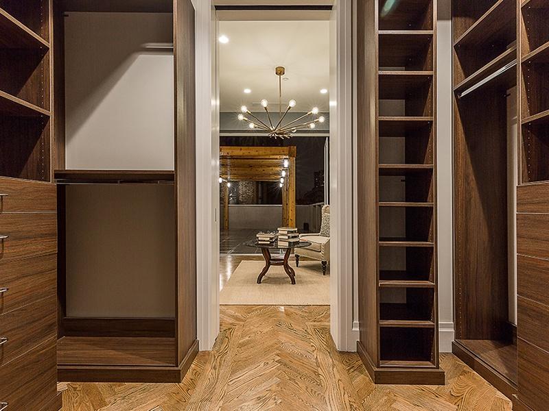 custom walk-through closet