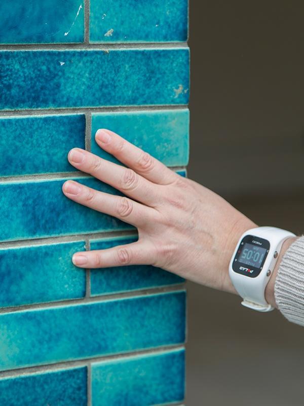 blue-green tile