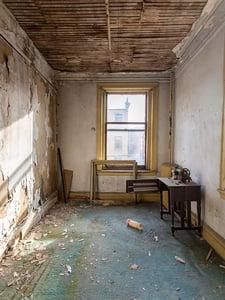 rundown bedroom