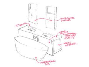 master bath sketch