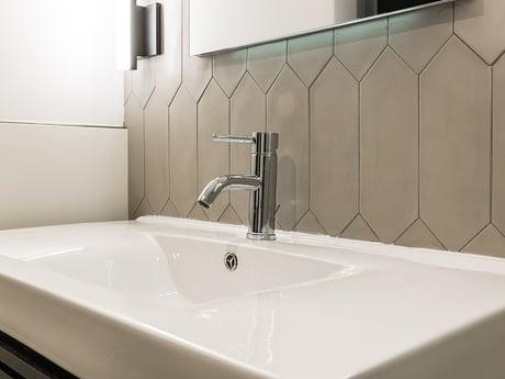 matching bathroom tile