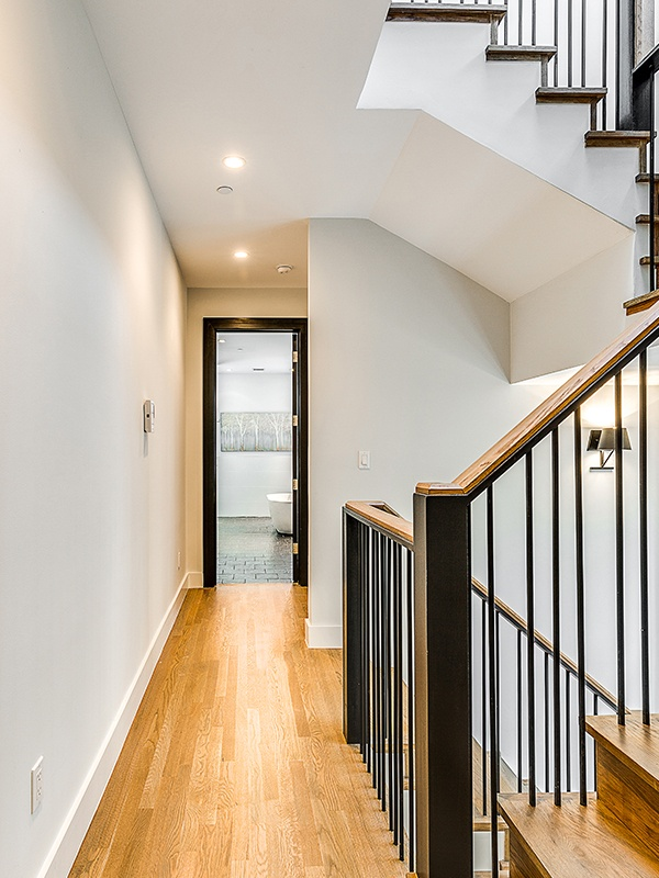 2nd floor stairs after