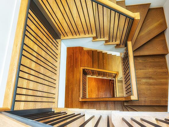 stairs overlook
