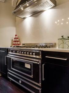 bertazzoni gas range oven