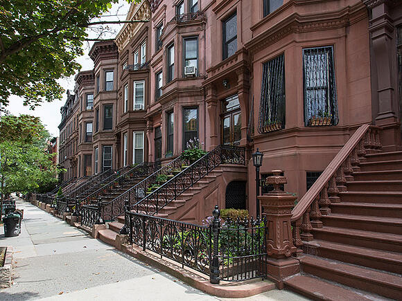 brownstone curb appeal