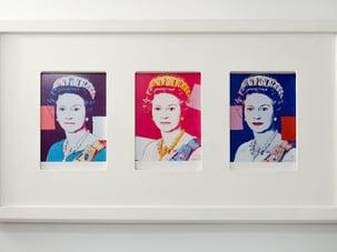 Warhols Queen Elizabeth