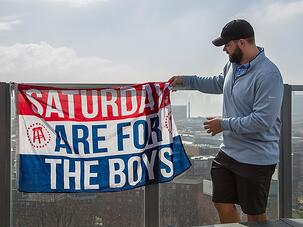 Saturdays are for the boys