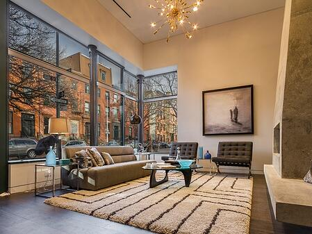 Gorgeous brooklyn living room