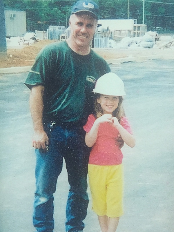 Shannon and her dad