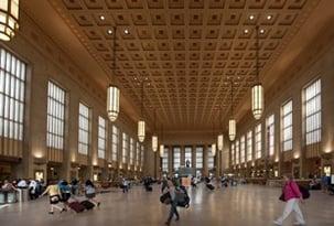 inside penn station