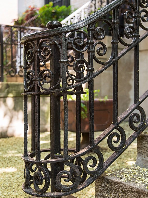historic railing