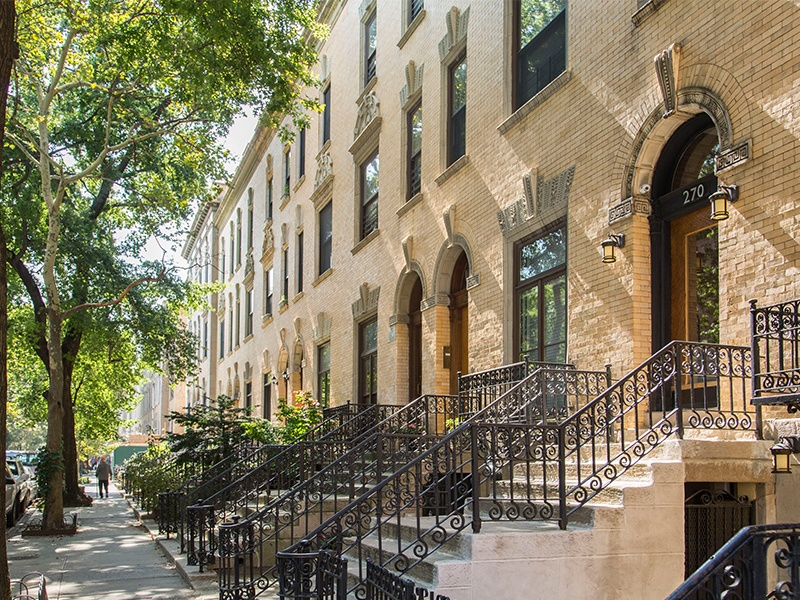 strivers row townhomes