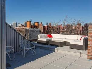 city rooftop living