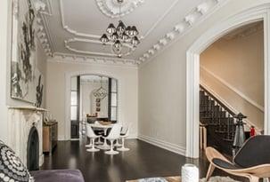 historic modern living room