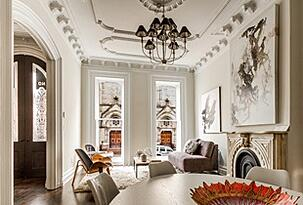brownstone living room
