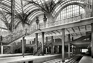 interior historic penn station