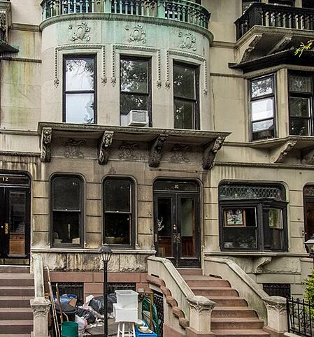Polhemus Place brownstone
