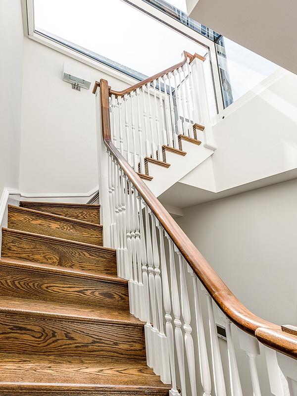 Staircase views